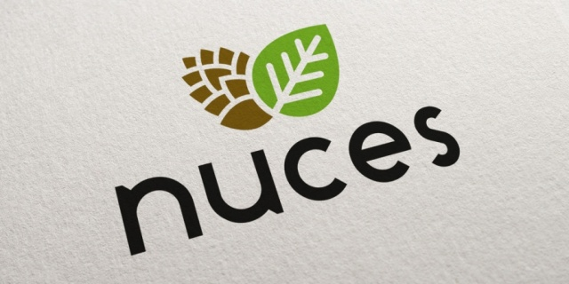 Nuces - Logotipo de marca